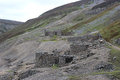 bunton mine (kokoschka's doll) Tags: mine derelict ruin scree gill gunnerside gunnersidegill pennines workings