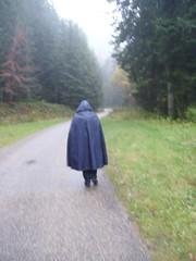 Rainmac-blau-IMGP0104 (Umhaenge2010) Tags: cape cloak cloack umhang regenumhang raincape capeimpermable