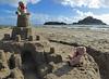 5Fri DT&Dee Sand Castle6 (g crawford) Tags: penzance cornwall marazion stmichaelsmount crawford sandbeach sandcastle dangerted ted teddy teddies dt dee bucket spade