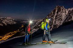Chamonix - Mont Blanc 05/2016 (labusak) Tags: chamonix mont blanc ski france grands mulets midi plan snow spring night gouter europe mountains ascent north face