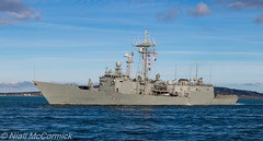 SPS Victoria (F82) Frigate (Niall McCormick) Tags: dublin port sps victoria f82 frigate spanish navy warship santa mariaclass oliverhazardperry