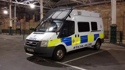 LX60 AGU FORD TRANSIT TDCI BRITISH TRANSPORT POLICE