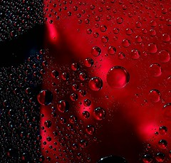 Shadows of a Red mist. (padge83) Tags: nikon d5300 bubbles macro red waterdroplets shadows westyorkshire flashes
