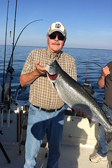 Jerry O - King Salmon 24 lb. on Lake Michigan 2016