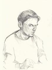 Selfie (JENS01) Tags: sketches sketch sketching sketchbook zeichnung skizzen skizze malen malerei black selfie selfportrait selbstportrait skizzenbuch