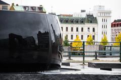 Public art (Maria Eklind) Tags: autumn utomhuskonst plsvensson europe hst fontain utblick sweden art insikt malmoe publicart insiktutblick hst plsvensson malm skneln sverige se