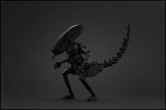 TheNewBlack - Alien (Legopard) Tags: lego alien xenomorph creature monster thealien giger black legopard