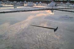 SDIM0133 (Mickey Huang) Tags: sigma dp2x foveonx3 taiwan 北門 井仔腳瓦盤鹽田 saltpan sunset winter