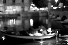 Lampara (alessandrolamalfa) Tags: blackwite biancoenero light sicilia italia italy sicily siracusa lampara bokeh panning notte night sea mare boat barca