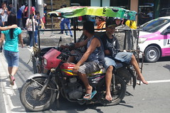 Tricycle, Manila, Phlippines (ARNAUD_Z_VOYAGE) Tags: islands island phlippines landscape boat sea southeast asia city people volcano amazing asian moutains sunset street action jeepney car province manila building intramuros municipality capital trafic jam