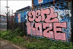 Gert / Koze (Alex Ellison) Tags: gert koze ybl westlondon urban graffiti graff boobs