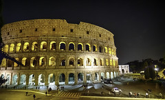 The Colosseum (C@mera M@n) Tags: architecture colosseum italy nightphotography rome ruin ancient ancientrome archaeology collie history outdoors vacation