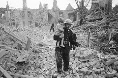 #A fireman carries a young boy out of rubble after a bombing raid [1941][615 x 410] #history #retro #vintage #dh #HistoryPorn http://ift.tt/2gYuAa4 (Histolines) Tags: histolines history timeline retro vinatage a fireman carries young boy out rubble after bombing raid 1941615 x 410 vintage dh historyporn httpifttt2gyuaa4