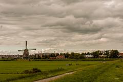 Volendam NL (Maria Foti) Tags: holland olanda paesibassi volendam landscape paesaggio windmill mulinoavento silhouette sky cielo