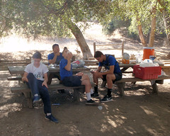 045 Lunch After The Run (saschmitz_earthlink_net) Tags: 2016 california orienteering topangacanyon statepark laoc losangelesorienteeringclub losangeles losangelescounty santamonicamountains