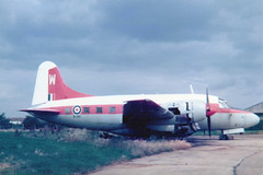 Photo of WJ915 / W Vickers 648 Varsity T1 cn 626 Royal Air Force RAF Northolt 20Apr78
