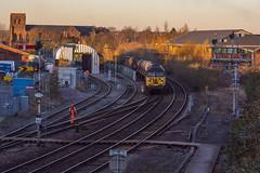 56_087_078_SBJ_25_11_16 (chrisbe71) Tags: 3s71 56087 56 078 rhtt shrewsbury grid colas brel class56 colasrail rustonpaxman suttonbridgejunction railheadtreatmenttrain semaphores semaphoresignals