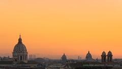 (Alessandro Argentieri) Tags: rooftops domes roofs sunset cupole roma italia tramonto rome tetti italy