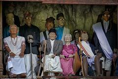 the well clad ancestors (Collin Key) Tags: effigies londa graveyard tanatoraja ancestors death manene indonesia ritual sulawesi tautau idn