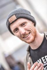 _DSC0257 (rus-star) Tags: ulm inline sport event session rollerblading d800 nikon 58mm fisheye portrait skatepark hall people