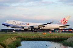 China Airlines Cargo B-18708 Boeing 747-409(F)SCD cn/30765-1288 @ Kaagbaan EHAM / AMS 08-06-2016 (Nabil Molinari Photography) Tags: china airlines cargo b18708 boeing 747409fscd cn307651288 kaagbaan eham ams 08062016