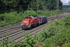 DBC BR261 108-5 te Duisburg Lotharstrasse, 10-08-16 (Daniël de Ruig) Tags: duisburg lotharstrasse db gravita ruhrgebied br261 deutschebahn