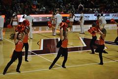 HOKIE DANCERS (SneakinDeacon) Tags: acc vt vatech hokies cassellcoliseum cheerleaders bigsouth basketball hightechs panthers highpoint