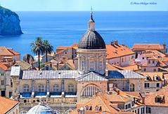 La cathdrale   et les toits de Dubrovnik (philippedaniele) Tags: vividstriking
