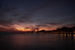 St. Nicholas Day (A.Tenace) Tags: skyline city urban sunset night clouds cityscape italy bari puglia