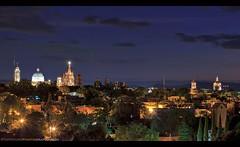 The Beautiful Spanish Colonial City of San Miguel de Allende, Mexico (Sam Antonio Photography) Tags: sanmigueldeallende mexico travel samantoniophotography city night cityscape de view miguel building allende san skyline aerial district downtown horizontal scene urban panorama sky latin cloudy tourism town unesco vista warm clouds sunset panoramic colonial dome historic church christian archangel architectural architecture cathedral historical illuminated old mexican landmark lights spanish worldheritagesite spire unique nightlife centralhighlands citylife twilight