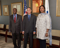 Deputy Secretary Mendez Meets With Kenyan Foreign Minister Amina Mohamed (U.S. Department of Transportation) Tags: deputysecretarymendez transportation kenya kenyanforeignministeraminamohamed