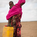 Nimo Abdi Dere, a mother of 1,  resides in Jigjiga, Jila Alu Kebele. She used to travel for eight hours daily to get 2 jerry cans of water