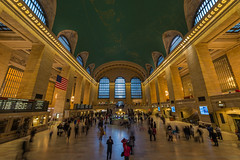 Grand Central Terminal (wdwben) Tags: newyork newyorkcity grandcentral grandcentralterminal trains train trainstation manhatten newyorkny