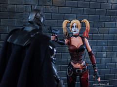 Never tust a crazy chick with a gun (2) (metaldriver89) Tags: batman arkhamcity arkhamknight arkham neca necatoys mattel matteltoys harley quinn harleyquinn harleenquinzel harleen quinzel joker suicidsquad suicide squad dc dccollectibles collectibles dceu dcuc comics badguys dccomics movie actionfigure action figure figures universe classics batmanunlimited legacy unlimited toys new52 new 52 acba articulatedcomicbookart articulated comic book art gotham gothamcity actionfigures toyphotography toy nightmarebatman nightmare indoor thedarkknight thedarkknightreturns ben affleck batfleck batmanvsuperman v vs superman multiverse dcmultiverse darkknight dark