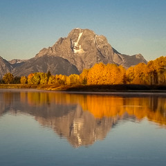 Grand Teton Fall Reflection (LG G4) (Jeffrey Sullivan) Tags: grandtetonnationalpark reflection grand teton national park lg g4 mobile phone camera images smartphone cellphone california usa photo copyright 2015 jeff sullivan september road trip