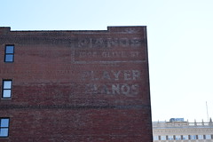 Play it again, Sam (David Sebben) Tags: ghostsign painted faded advertisement player piano stlouis bogart casablanca