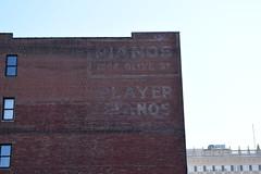 Play it again, Sam (David Sebben) Tags: ghostsign painted faded advertisement player piano stlouis bogart casablanca