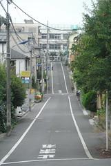 tokyo6090 (tanayan) Tags: urban town cityscape tokyo japan akabane nikon j1    road street alley slope