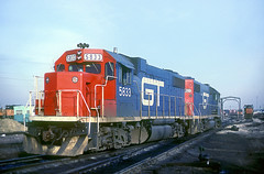 GTW GP38-2 5833 (Chuck Zeiler) Tags: gtw gp382 5833 railroad emd locomotive bensenville chz