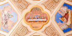 glise baroque de Saint Nicolas de Vroce - Haute-Savoie - FRANCE (Gycess) Tags: france architecture peinture baroque glise fresque hautesavoie rhnealpes saintnicolasdevroce