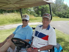 2015 Golf Tournament - Don LaFountaine and Damon Monschien