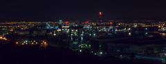 Eleysina - Athens, Greece (Pan_Gian) Tags: night photography long exposure slow athens greece shutter oil refineries eleysina eleusina pangian pgian