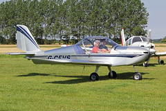 G-CEVS (QSY on-route) Tags: york light fly aircraft vale strut association laa in of gcevs 08082015