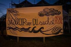 25.08.2015 #cwtz_heidenau - Demo für den Schutz von Geflüchteten (caruso.pinguin) Tags: demo leipzig demonstration turnhalle halle lager schutz flüchtlinge heidenau connewitz htwk asylsuchende geflüchteten 25082015 cwtzheidenau