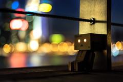City Lights (Nagimaru) Tags: city night nikon singapore bokeh figure danbo revoltech