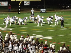 "Mount Carmel vs. St. Rita September 18, 2015 • <a style=""font-size:0.8em;"" href=""http://www.flickr.com/photos/134567481@N04/21350688510/"" target=""_blank"">View on Flickr</a>"