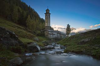 la chiesa di Bondone