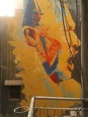 Nusrat Fateh Ali Khan painting By (Farooq Raz) Tags: pakistan music art painting god fateh ali pakistani khan sufi sufism nikunj nusrat ustad qawwali nfak prajapati qawali unfak