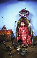 The Kumari Devi outside of Kathmandu, Nepal