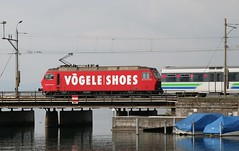 2015-10-09, SOB, Rapperswil (Fototak) Tags: train switzerland eisenbahn treno sob voralpenexpress re456 vögeleshoes 456094